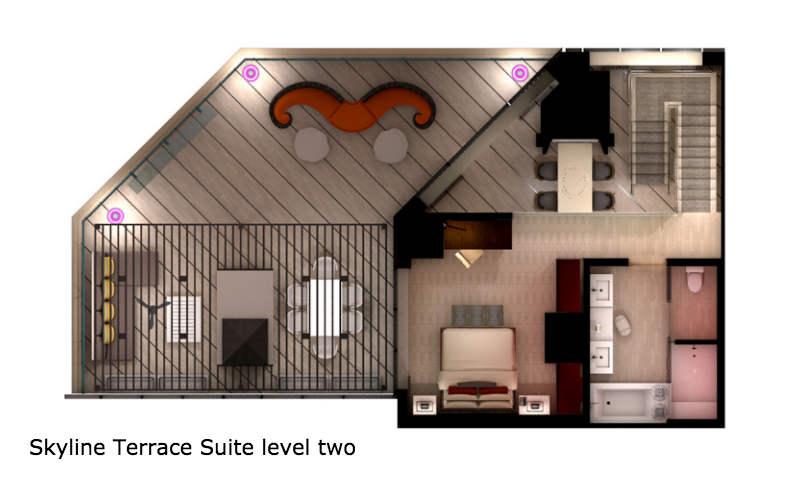Mgm Signature 2 Bedroom Suite Floor Plan Www Indiepedia Org