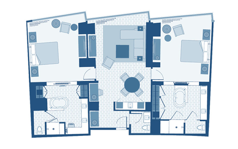 2 Bedroom Aria Suite Aria Rooms Suitesaria 2 Bedroom Suite Crepeloversca Com