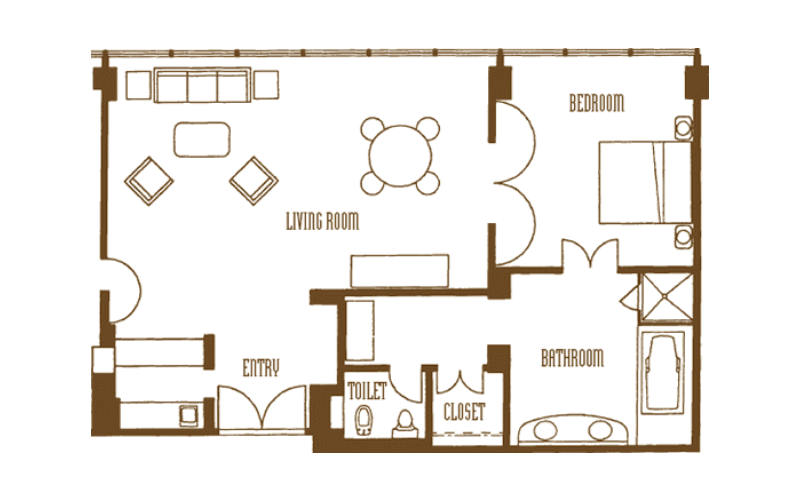 Mirage 2 Bedroom Tower Suite Floor Plan Www Indiepedia Org