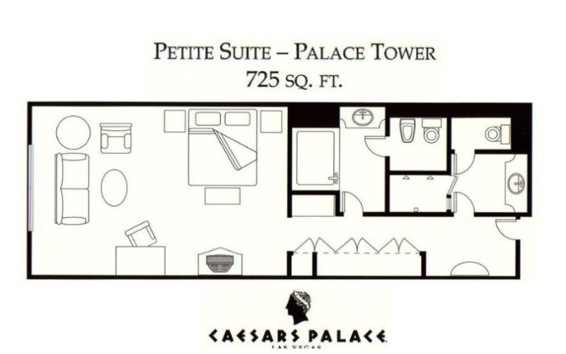 Caesars palace room floor plans taraba home review for House plans with tower room