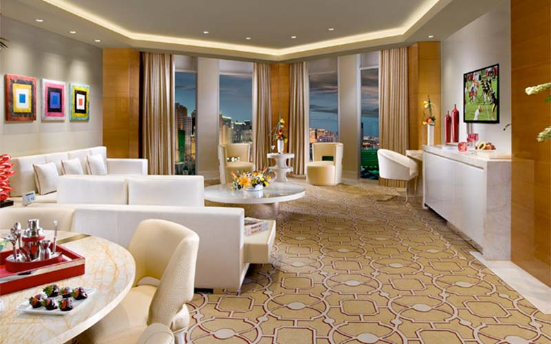 Cosmopolitan Two Bedroom City Suite a look at some of the best two bedroom vegas suites